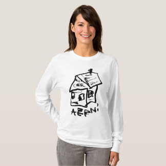 SAD HOUSE VIII by JUSTIN AERNI T-Shirt