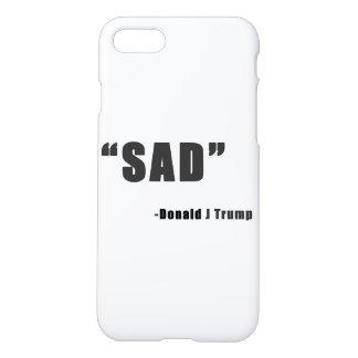 """""""Sad"""" iPhone 7 case"""