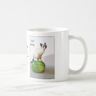 Sad Kitten Mug