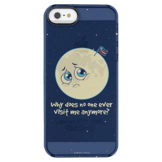 Sad Moon Clear iPhone SE/5/5s Case
