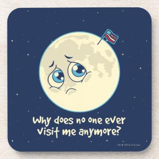 Sad Moon Coaster