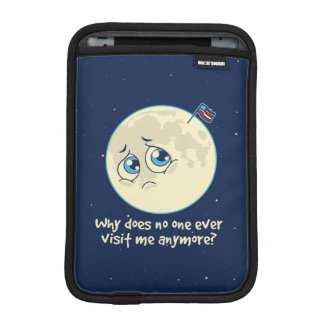 Sad Moon iPad Mini Sleeve