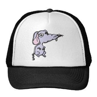 Sad mouse mesh hats