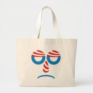 Sad Obama Face Bag