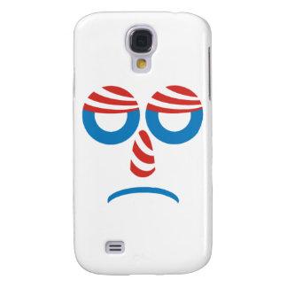 Sad Obama Face Samsung Galaxy S4 Cover
