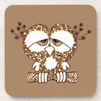 Sad Owl Coaster
