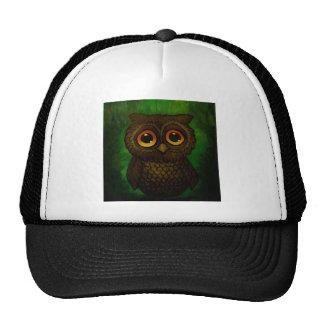 Sad owl eyes cap