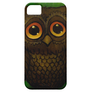 Sad owl eyes case for the iPhone 5