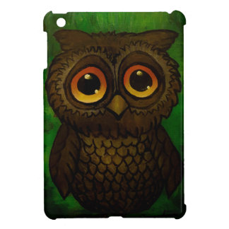 Sad owl eyes iPad mini case