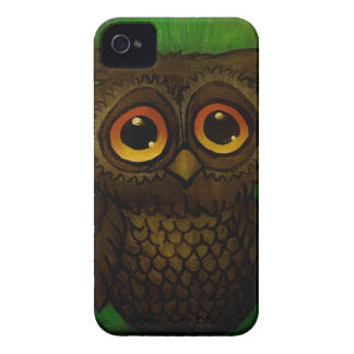 Sad owl eyes iPhone 4 cases