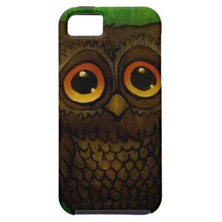 Sad owl eyes iPhone 5 cases