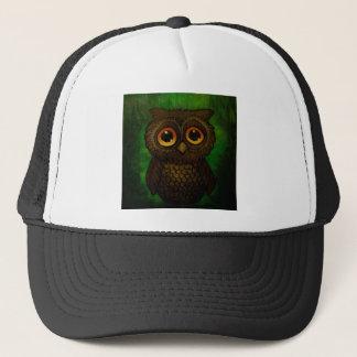Sad owl eyes trucker hat