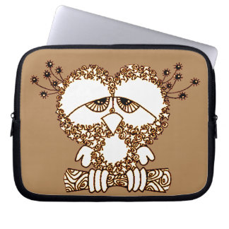 Sad Owl Laptop Sleeve