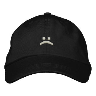 Sad phase in a hat baseball cap