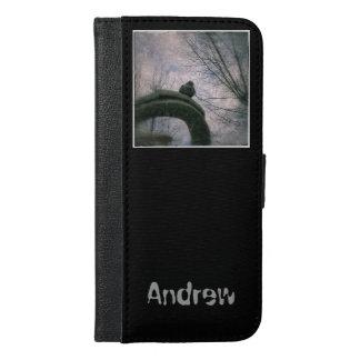 Sad pigeon iPhone 6/6s plus wallet case