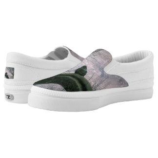 Sad pigeon slip on shoes