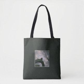 Sad pigeon tote bag