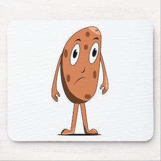 Sad potato mouse pad
