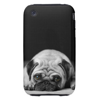 Sad Pug iPhone 3 Tough Cover