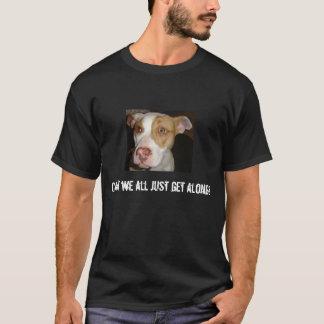 Sad Sandy, Can't we all just get along? T-Shirt