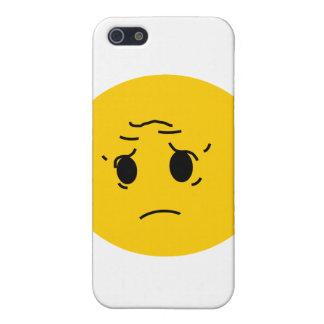 sad smiley iPhone 5 cases