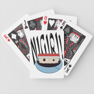 SAD SOY NIGIRI PLAYING CARDS