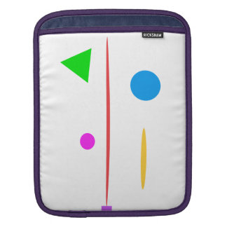 Sad Surfboard iPad Sleeve