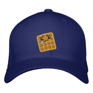 Sad Waffle Embroidered Hat