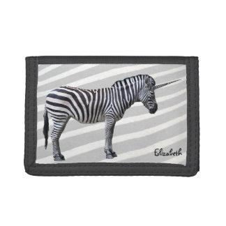 Sad Zebra Unicorn Wallet