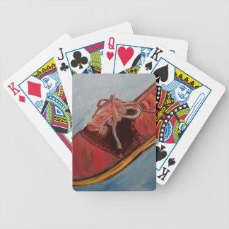 Saddle Shoe Bicycle Playing Cards
