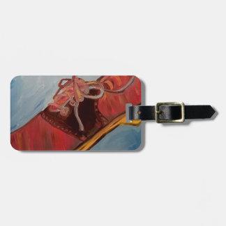 Saddle Shoe Luggage Tag
