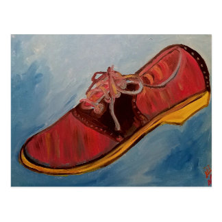 Saddle Shoe Postcard