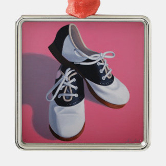Saddle Shoes Art Metal Ornament