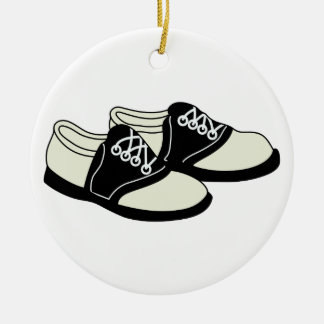 Saddle Shoes Ceramic Ornament