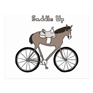 Saddle Up Postcard