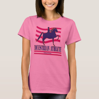 Saddlebred Equestrian Athlete Long Sleeve T-Shirt
