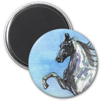 Saddlebred Horse Art Magnet