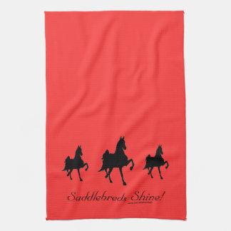 Saddlebreds Shine Tea Towel