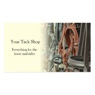 Saddlery business card