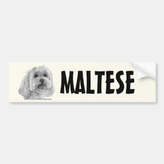 Sadie, Maltese Bumper Sticker
