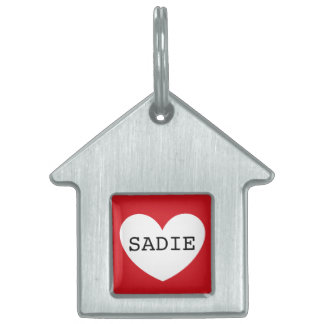 ❤️ SADIE pet tag by DAL