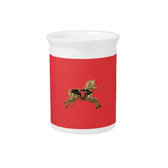 Sadie Spotted Horse Beverage Pitcher