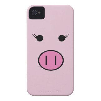 Sadie the Pink Pig Case-Mate iPhone 4 Cases