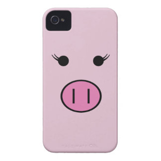 Sadie the Pink Pig iPhone 4 Covers