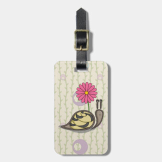 Sadie the Snail Luggage Tag