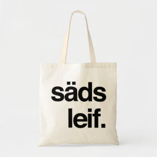 säds leif. tote bag