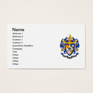SAE Coat of Arms Color Business Card