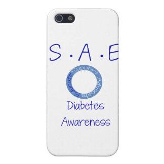 SAE Diabetes Awareness Covers For iPhone 5