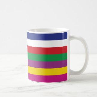 Saekdong Korean Lucky Seven Stripes Coffee Mug