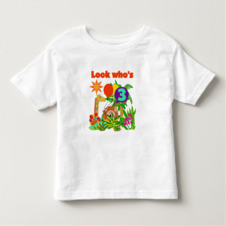 Safari 3rd Birthday  Tshirts and Gifts